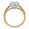 3.06 ct. Pear Cut Solitaire Ring, G, VS2 #1