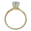 1.10 ct. Round Cut Solitaire Ring, F, I1 #3