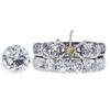 1.99 ct. Round Cut Bridal Set Ring, K, SI1 #3