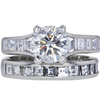 1.71 ct. Round Cut Bridal Set Ring #3