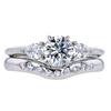0.94 ct. Round Cut Bridal Set Tiffany & Co. Ring, G, VS2 #3