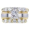 1.52 ct. Princess Cut Bridal Set Ring #3