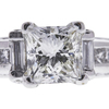 1.21 ct. Princess Cut Bridal Set Ring, I, SI2 #4