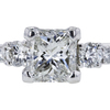 1.00 ct. Radiant Cut Bridal Set Ring #4