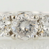 0.70 ct. Round Cut 3 Stone Ring #1