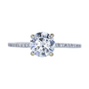 1.15 ct. Round Cut Solitaire Ring, H, VS2 #3
