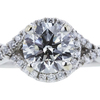 1.01 ct. Round Cut Solitaire Ring, J, SI2 #4