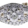 1.2 ct. Round Cut Bridal Set Ring, I-J, I2 #1