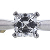 1.00 ct. Asscher Cut Bridal Set Ring, E, SI2 #4