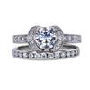 0.74 ct. Round Cut Bridal Set Tiffany & Co. Ring, F-G, VVS2-VS1 #2