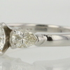 1.08 ct. Round Cut 3 Stone Ring #4