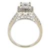0.93 ct. Princess Cut Bridal Set Ring, E-F, I1 #3