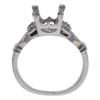 2.06 ct. Round Cut Bridal Set Ring, M, VS1 #3
