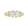 0.77 ct. Round Cut Solitaire Ring, G, SI1 #3