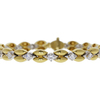 Round Cut Link Bracelet, K-L, VS2-SI1 #2