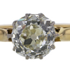 1.75 ct. Old Mine Cut Solitaire Ring #4