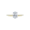 1.04 ct. Oval Cut Solitaire Ring, D, IF #2