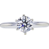 0.76 ct. Round Cut Solitaire Ring, F, VVS1 #3