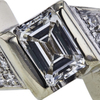 1.33 ct. Emerald Cut Solitaire Ring, G-H, VS2-SI1 #1