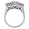 0.95 ct. European Cut 3 Stone Ring, I-J, SI1-SI2 #2