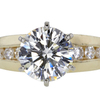 3.18 ct. Round Cut Solitaire Ring #1