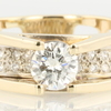 .79 ct. Round Cut Bridal Set Ring #1