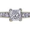1.05 ct. Princess Cut Solitaire Ring #1