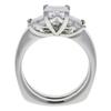 1.21 ct. Princess Cut Bridal Set Ring, D, VS2 #4