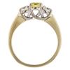 0.52 ct. Round Cut 3 Stone Ring, Fancy, VS1 #3