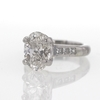 3.03 ct. Oval Cut Solitaire Ring #4