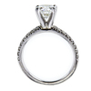 1.26 ct. Round Cut Solitaire Ring #3