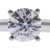 1.20 ct. Round Cut Solitaire Ring, G, VS2 #4