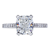 2.50 ct. Cushion Cut Solitaire Ring, G, VS1 #3