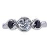 0.73 ct. Round Cut 3 Stone Ring, H-I, VS1 #2