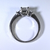 0.81 ct. Princess Cut 3 Stone Ring #1