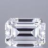 0.95 ct. Emerald Cut Bridal Set Ring, F, VVS2 #1
