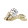 0.97 ct. Round Cut Solitaire Ring, I, SI2 #3