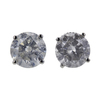 1.20 ct. Round Cut Stud Earrings, G-H, I3 #1