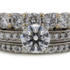 1.22 ct. Round Cut Bridal Set Ring #2