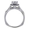 1.13 ct. Cushion Cut Bridal Set Ring, G-H, SI1-SI2 #1