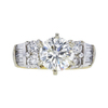 1.97 ct. Round Cut Bridal Set Ring, K, I1 #2