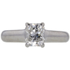 0.92 ct. Radiant Modified Cut Solitaire Tiffany & Co. Ring, G, VS1 #3