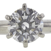 1.02 ct. Round Cut Solitaire Ring, F, I1 #4