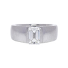 1.19 ct. Emerald Cut Solitaire Ring, H, VS2 #3