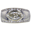1.77 ct. Marquise Cut Solitaire Ring, J, SI2 #3