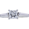 1.01 ct. Princess Cut Solitaire Ring, D, SI2 #3