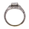 1.10 ct. Round Cut Halo Ring #3