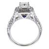 0.91 ct. Princess Cut Bridal Set Ring, F-G, I1 #3