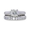 1.06 ct. Princess Cut Bridal Set Tiffany & Co. Ring, I, VVS2 #3