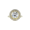 2.26 ct. Round Cut Halo Ring, L, SI1 #3